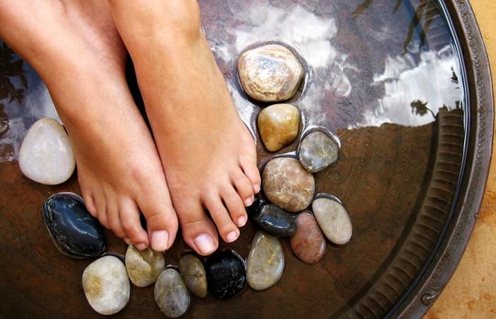 Контрастні ванни для ніг